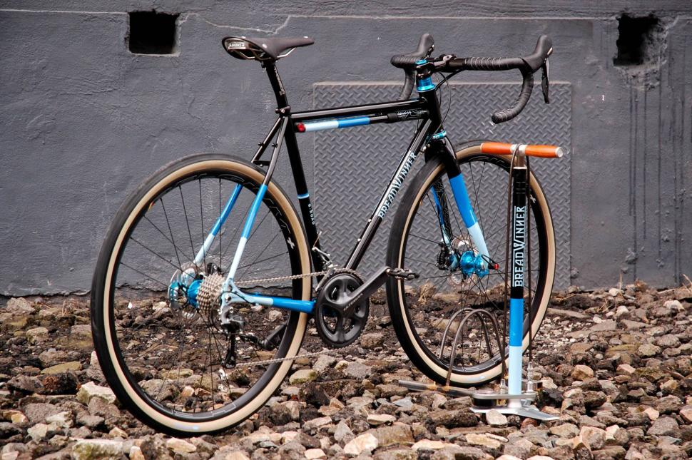 Breadwinner Cycles Take the Long Way Home B-Road road bike. With ...