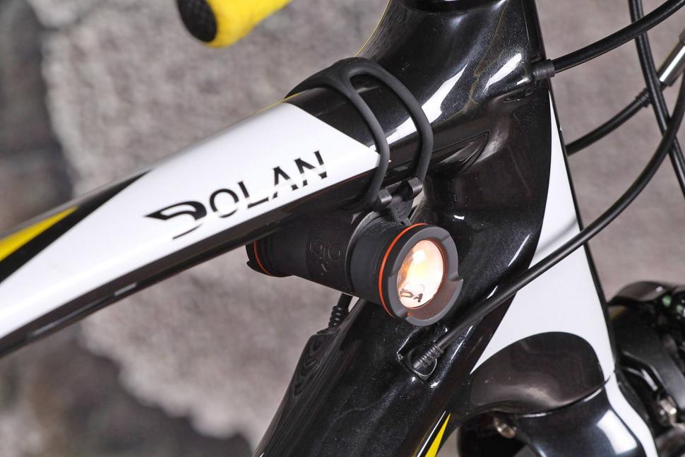 Rechargeable Brightside Bike Lights Side Lighting for Cyclists Bright Amber