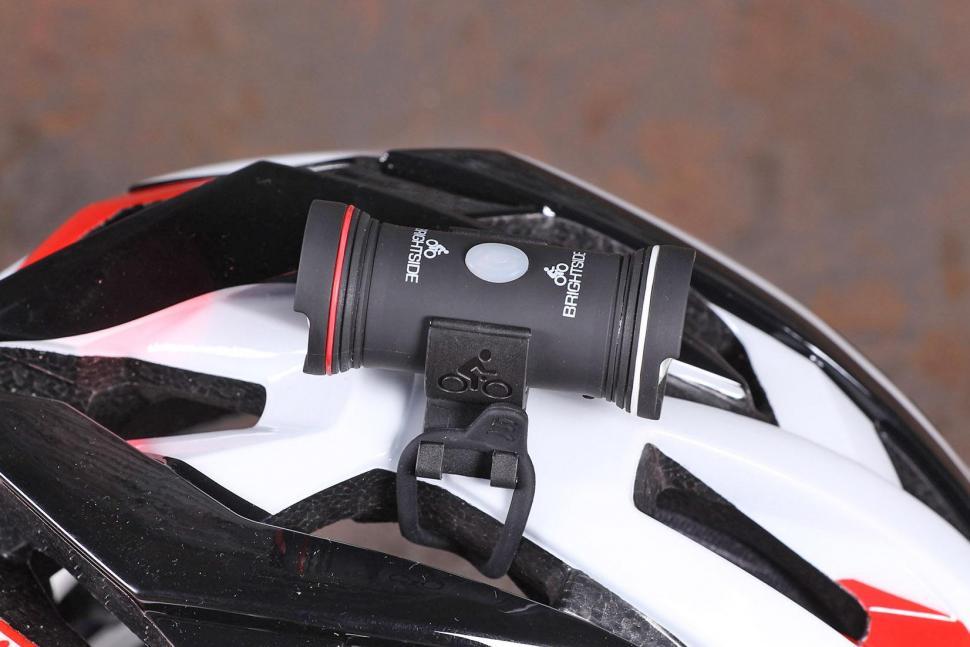 Bike Helmet Light >> Review Brightside Topside Helmet Light Road Cc