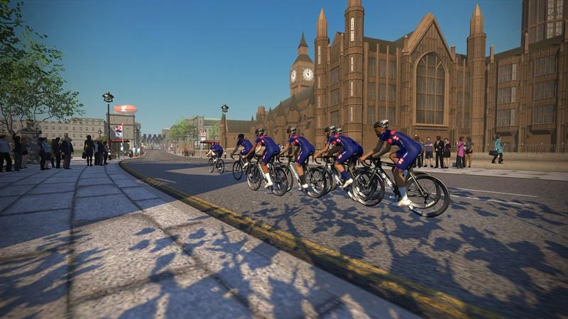 British Cycling on Zwift