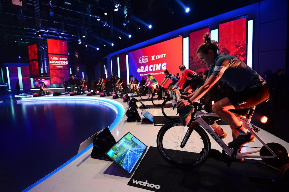 British Cyclling Zwift eRacing Championship 2019 (picture copyright Simon Wilkinson, SWPix (13).jpg