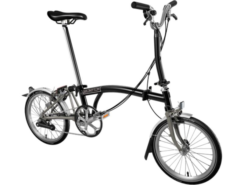 Brompton S6L-X Nickel SuperLight Black