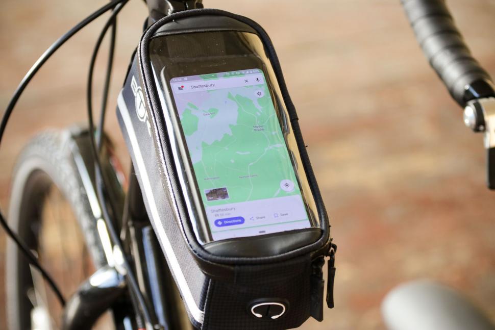 BTR Deluxe Bike Bag Phone Holder - phone holder.jpg