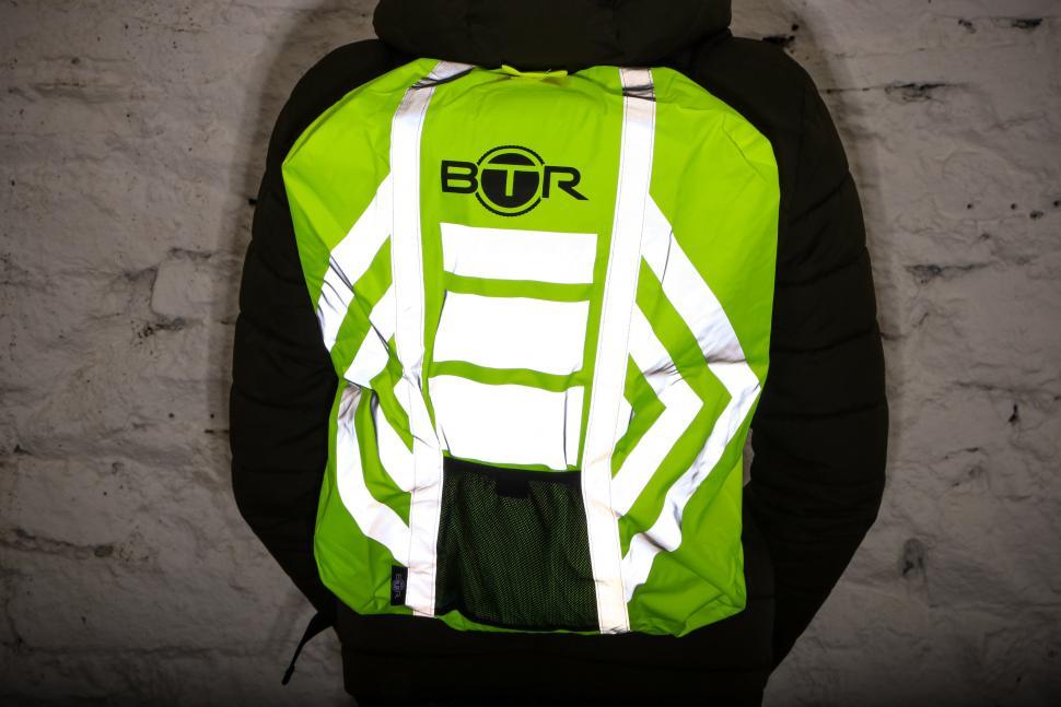 Waterproof Hi Viz Reflective Bag Backpack Rucksack Rain Cover Motorcycle Cycling