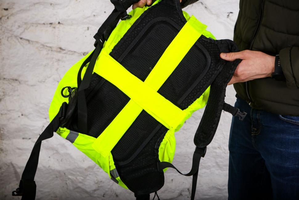 Large Yellow RAINS Waterproof LTD Backpack
