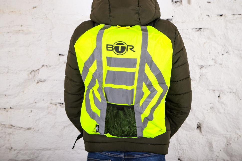 BTR High Visibility Reflective Waterproof Rucksack Rain Cover