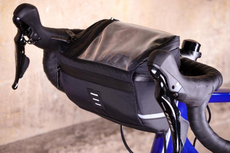 BTR Water Resistant Handlebar Bike Bag With Phone Navigation Pocket - front.jpg
