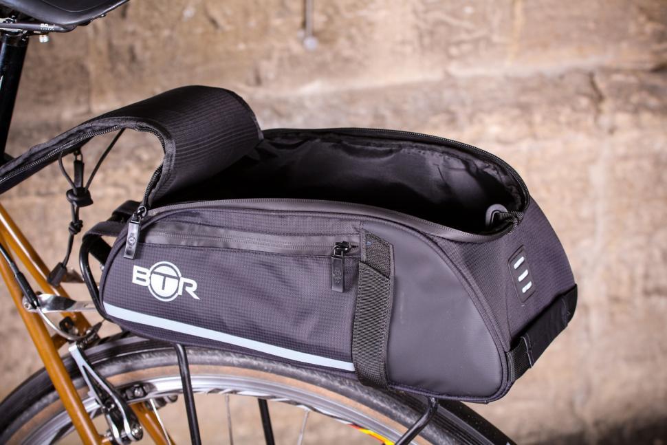BTR Waterproof Bicycle Rear Rack Pannier Bike Bag - open.jpg