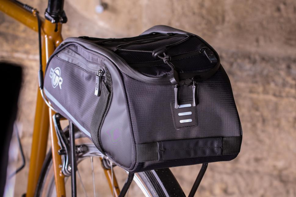 US 8L Bike Rear Rack Bag Outdoor Cycling Bicycle Tail Rear Basket Trunk Handbags
