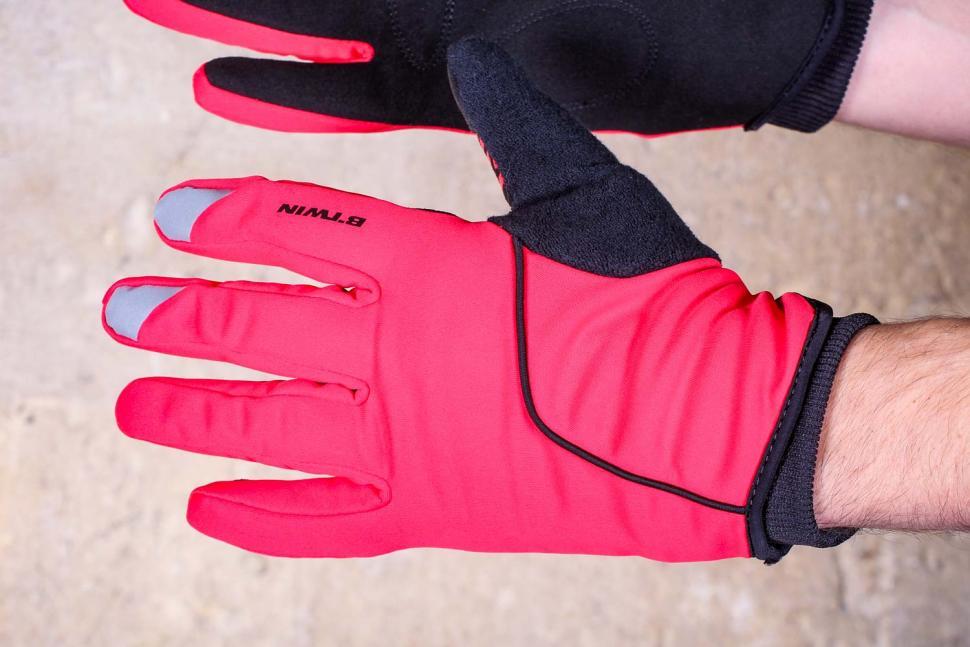 BTwin 500 Winter Cycling Gloves - back.jpg