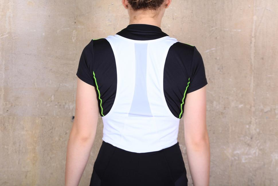 BTwin 700 Womens Cycling Bib shorts - straps back.jpg