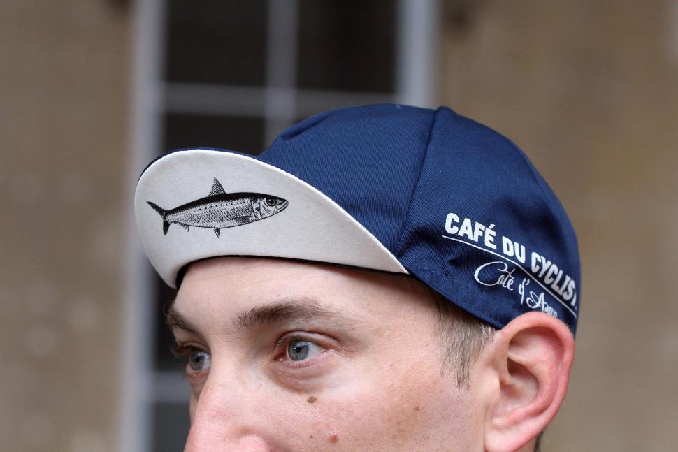 Cafe du Cycliste Cycling Cap Sardine 2.jpg