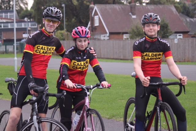 Calder Clarion - Lewis, Eleanor and Ben.JPG