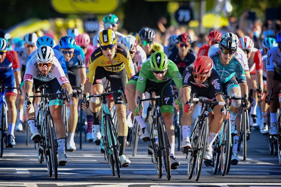 Tour de France Stage 11: Caleb Ewan wins in Poitiers ...