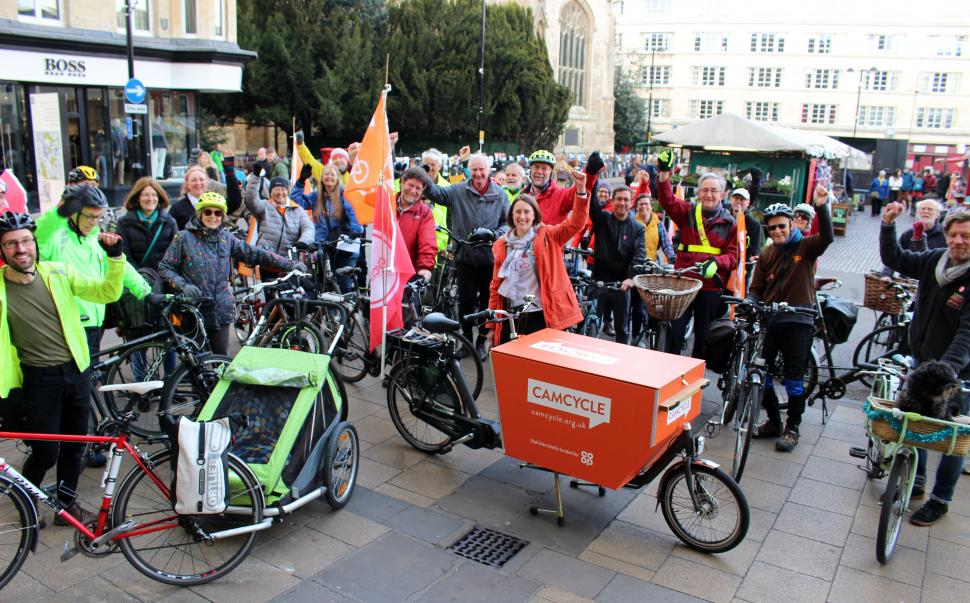 Camcycle Space for Cycling ride 2019