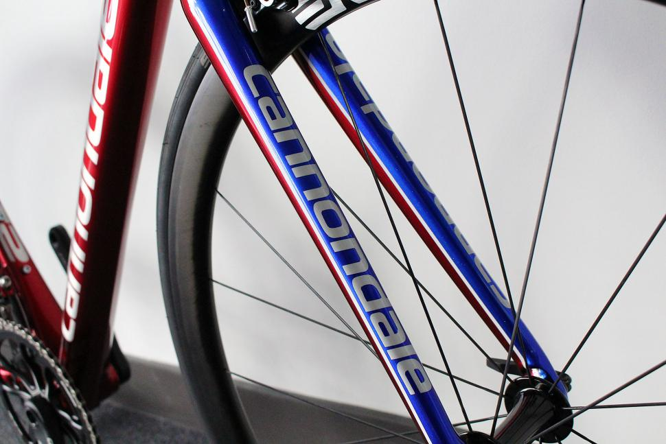 Cannondale CAAD12 Stars and Stripes - fork.jpg