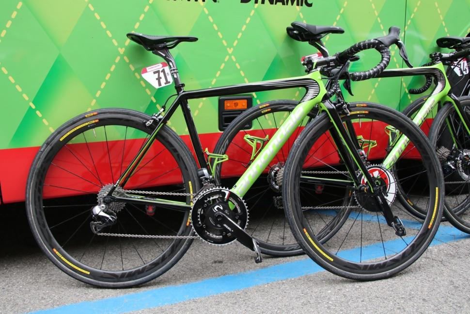 b5b495f1f Cannondale-Drapac break out the disc brakes at Strade Bianche - but ...
