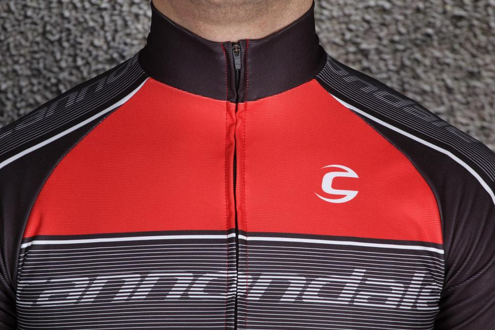 Cannondale Performance 2 Pro Long Sleeve Jersey - collar.jpg d5a86b4ed
