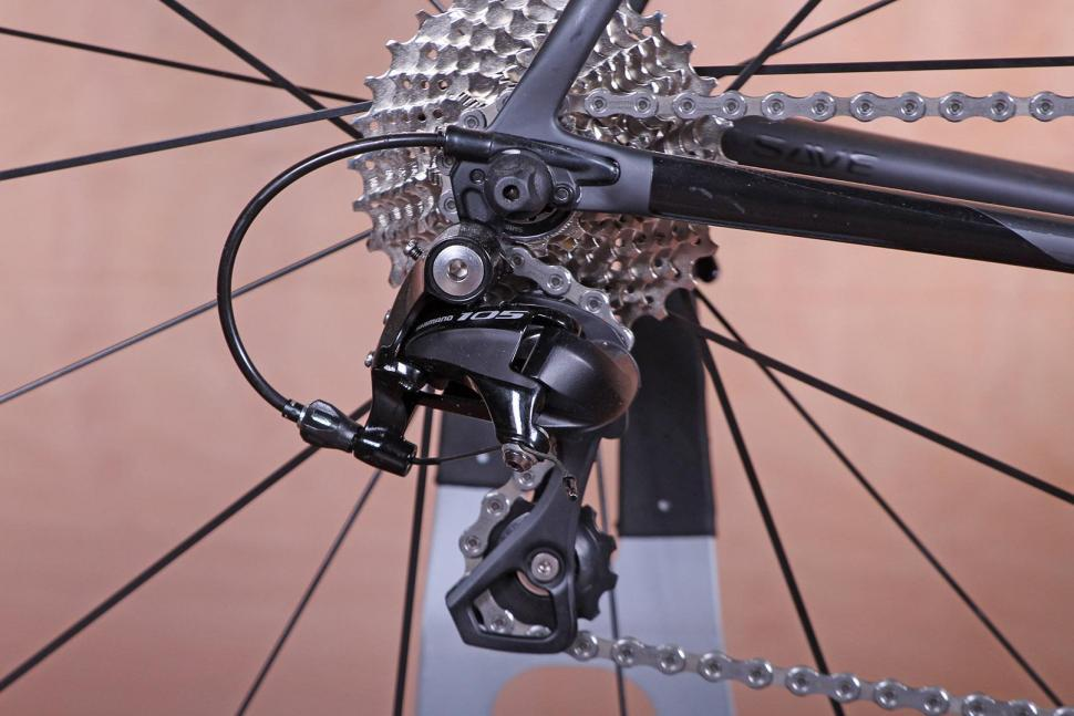 Cannondale SuperSix Evo 105 - rear mech.jpg