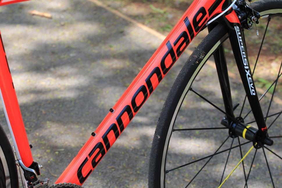 Cannondale SuperSix Evo Hi-Mod Dura Ace One - down tube.jpg