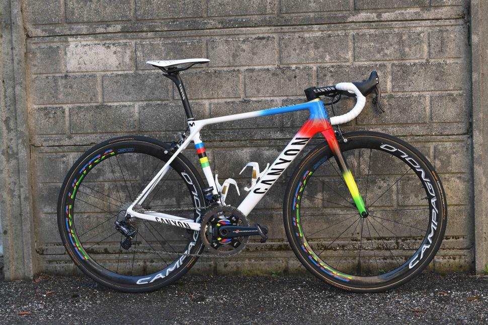 Pro Bikes: Alejandro Valverde's World Champion Canyon