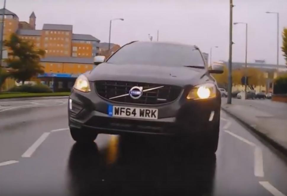 Car involved in Nottingham hit and run (taken from YouTube video).jpg