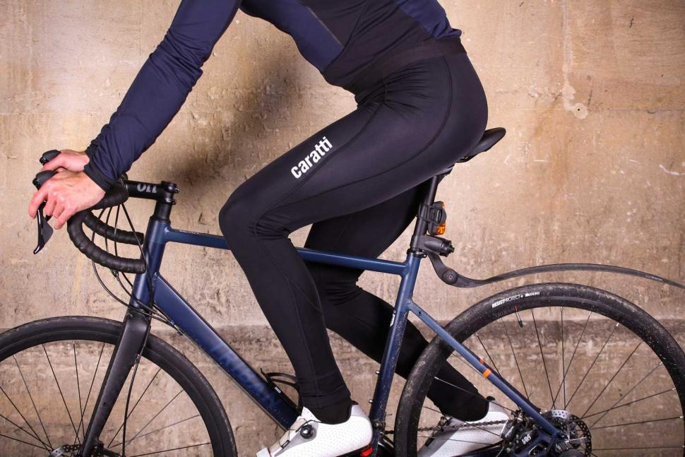 Caratti Pro Windproof Bib Tights - riding.jpg