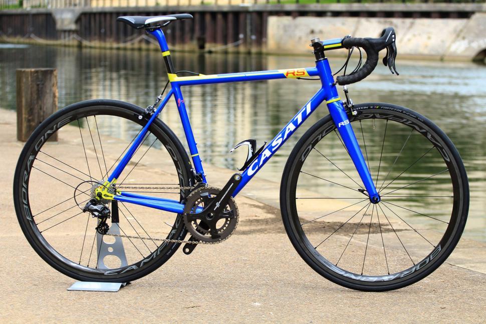 Bike Check Casati S New Espresso Rs Steel Road Bike Road Cc