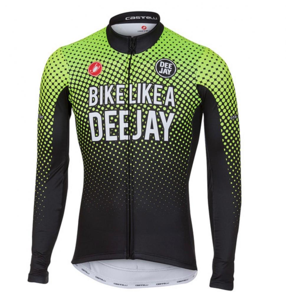 Castelli Custom Jersey Ride Like a Deejay