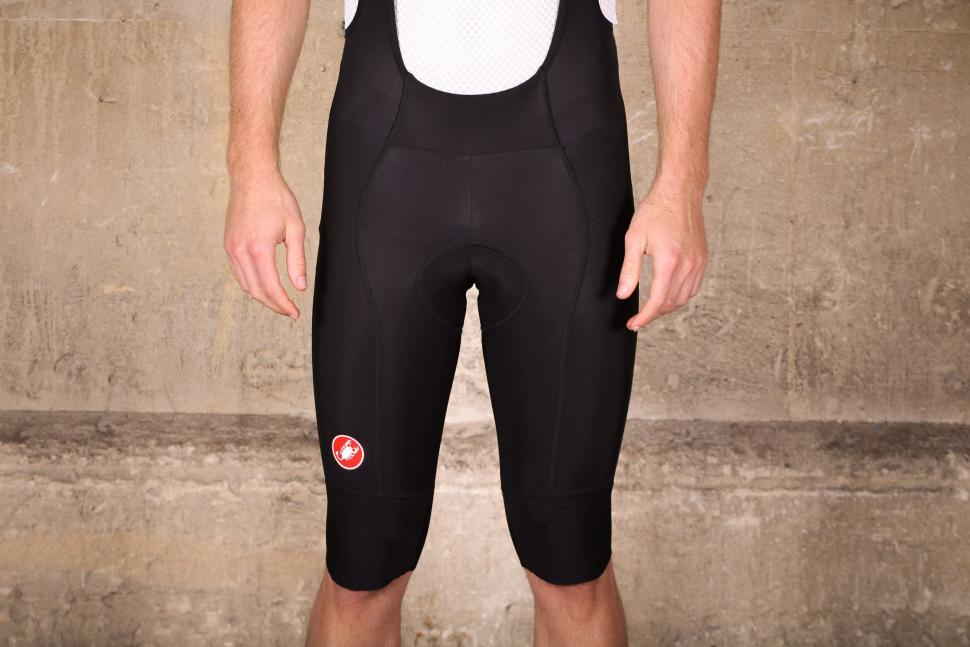 Castelli Omloop Thermal bib shorts - front.jpg