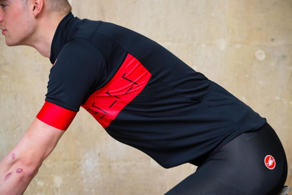 Castelli Prologo VI Short Sleeve Jersey - riding.jpg