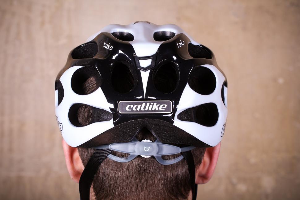 Catlike Tako White-Black Helmet - back.jpg