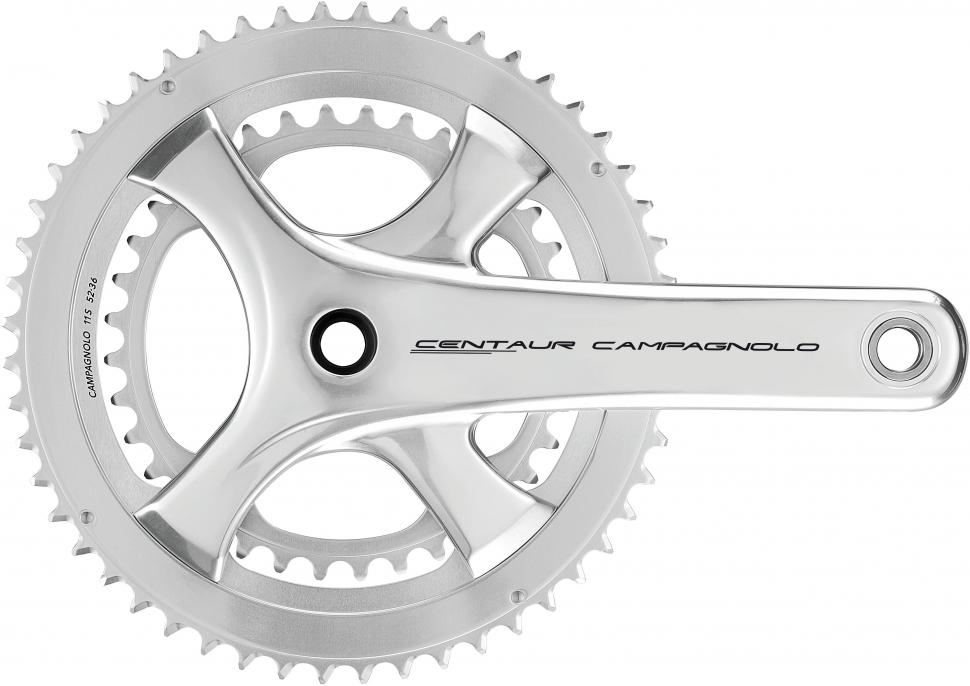 Campagnolo Centaur chainset silver