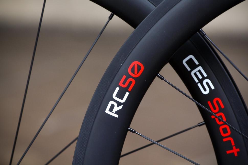 CES Sport RC50 Clincher Wheelset - rim detail 3.jpg