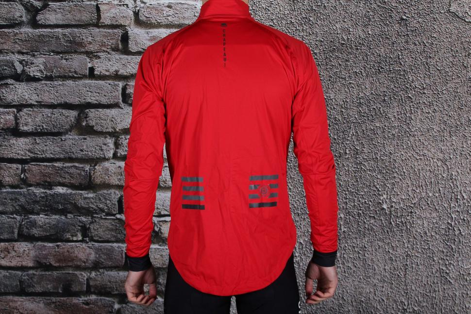 Chapeau Red Echelon Jacket - back.jpg