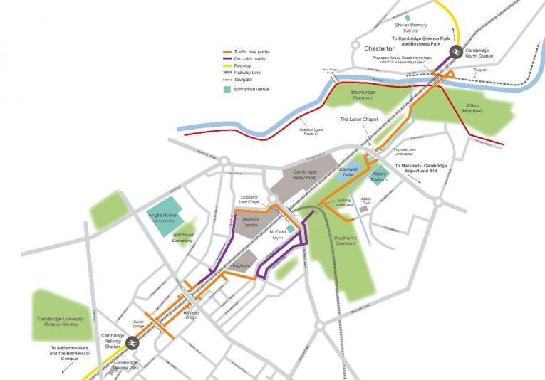 Chisholm Trail map