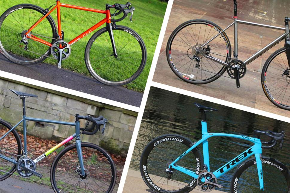 Choosing a steel, aluminium, titanium or carbon road bike October 2018