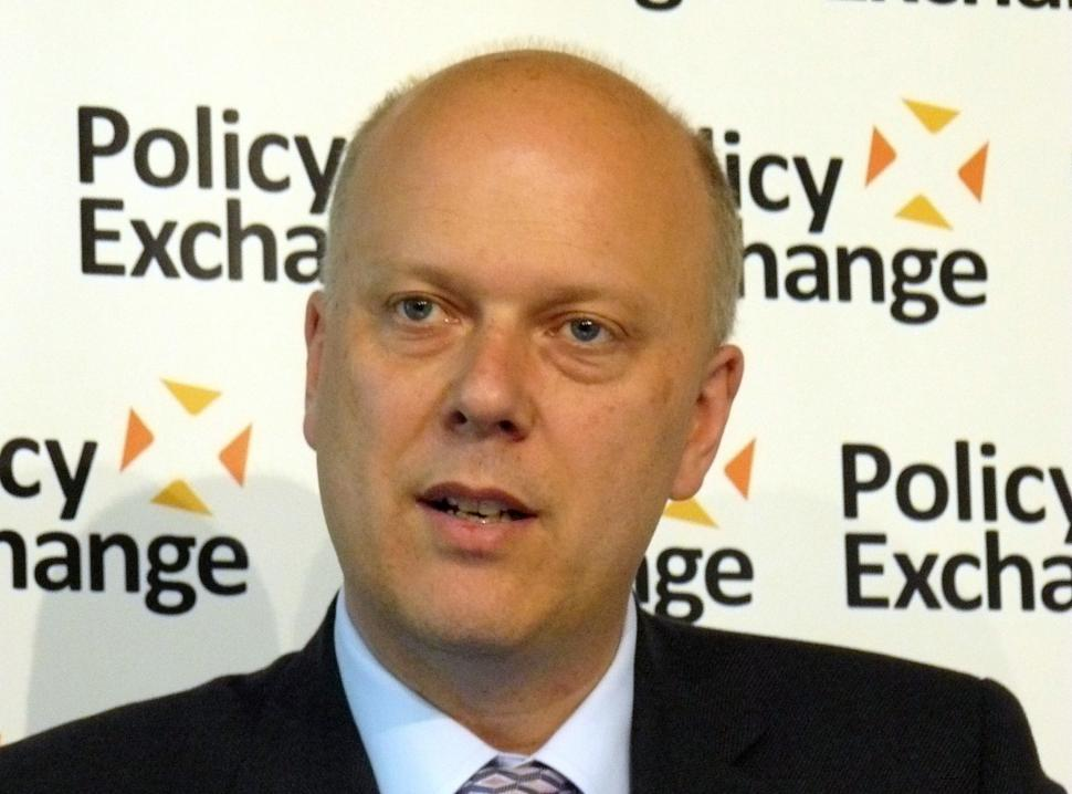 Chris Grayling (CC BY 2.0 Policy Exchange|Flickr).jpg