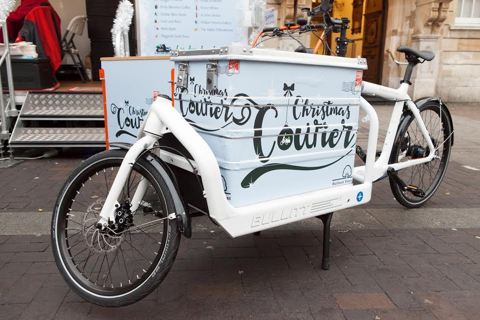 Christmas Courier (image courtesy of Waltham Forest Council)