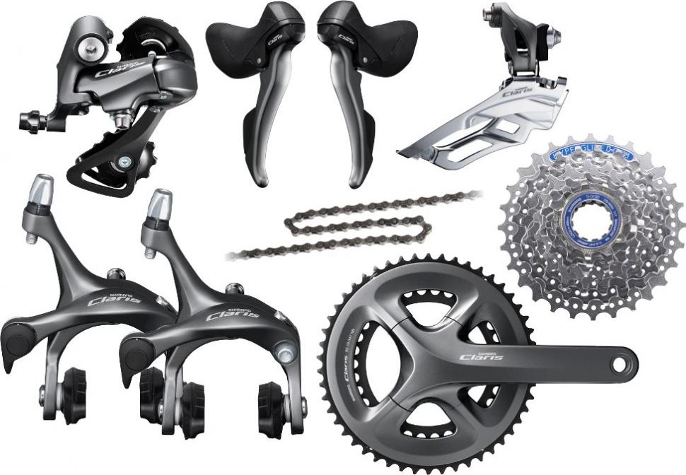 6b6d56a6e83 Claris R2000 groupset. Claris is Shimano's most affordable road bike ...