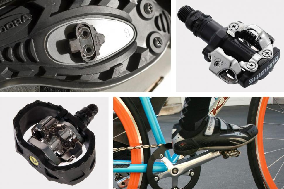 Clipless pedals — how Shimano's multi-release cleats make it