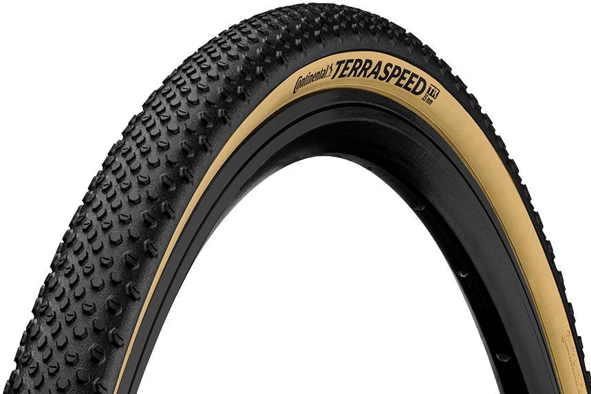 Tubeless Folding PAIR Continental Terra Speed Tires CREAM 700c x 35//40mm