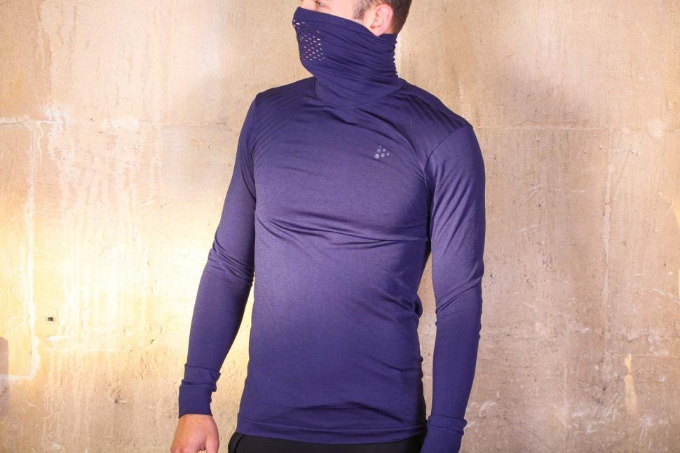 Craft Fuseknit Turtleneck Comfort Jersey - collar up.jpg