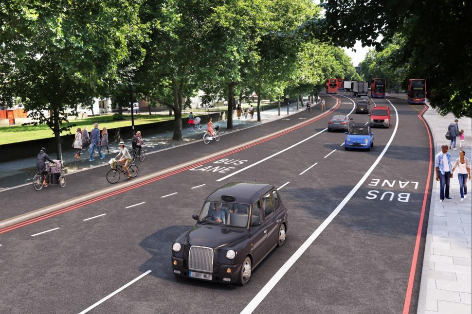 Cycle Superhighway 4 Jamaica Road.jpg