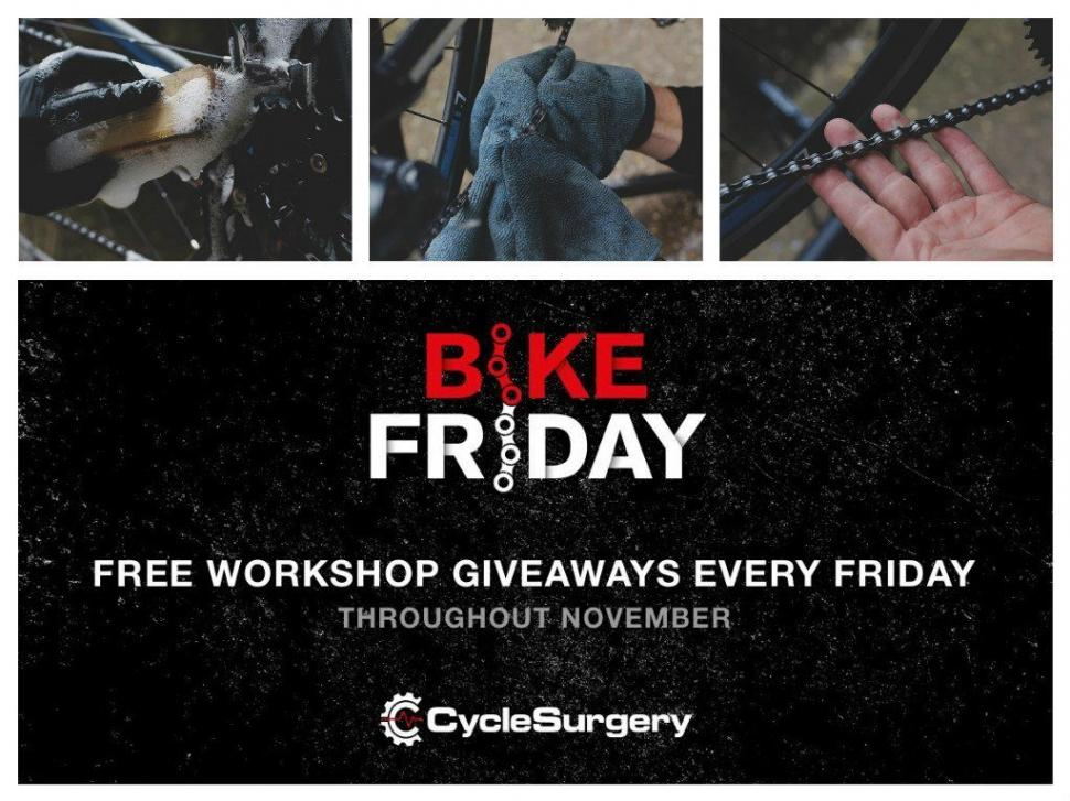 29e6ca9ec Cycle Surgery's Bike Friday brings free drivetrain cleaning to a store near  you