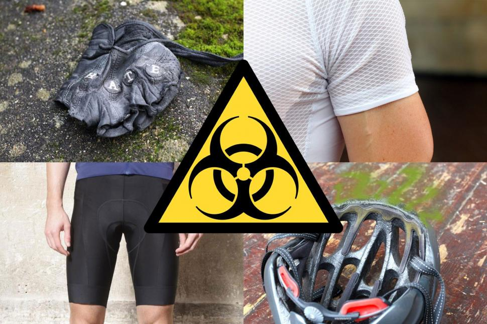 f302291408 The bike kit bio-hazards cyclists never talk about