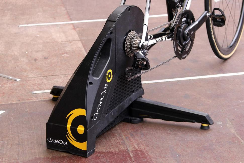 CycleOps Hammer Direct Drive SMART Trainer - from back.jpg