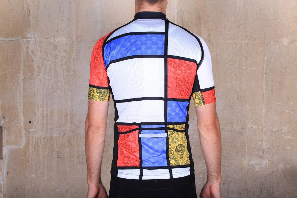 Cycology Mondrian Mens Jersey - back.jpg