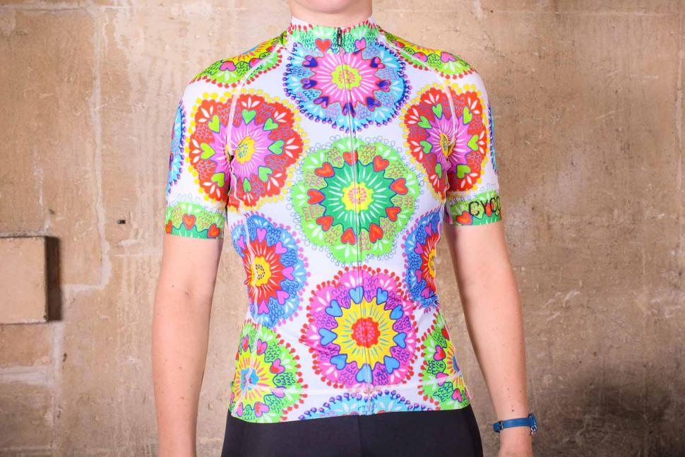 Cycology Spin Sista Women's Jersey - front.jpg