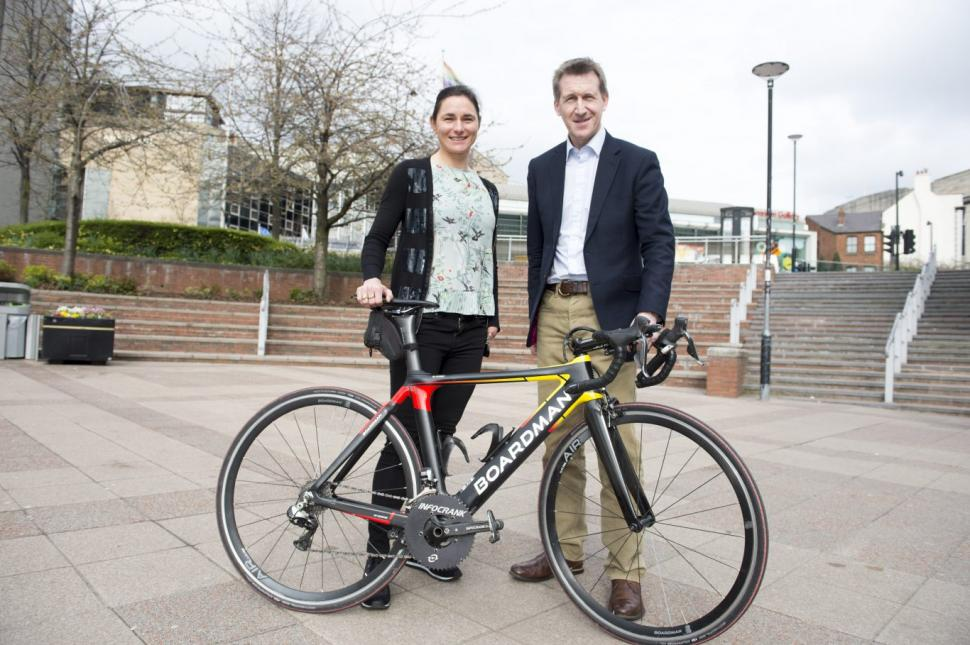 Dame Sarah Storey and Sheffield City Region Mayor Dan Jarvis (picture credit Sheffield City Region)